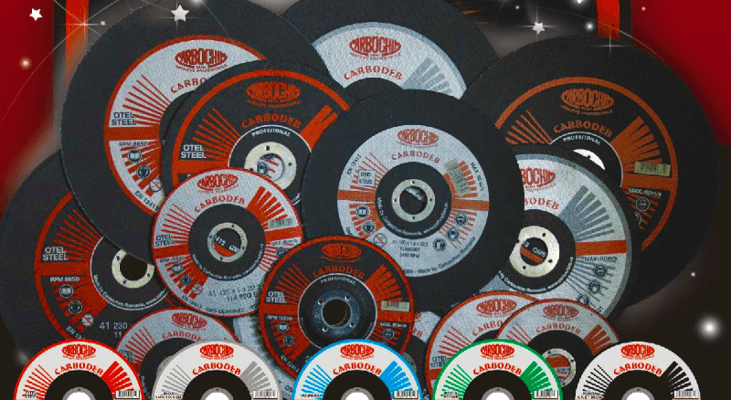 CUTTING AND GRINDING WHEELS - CARBODEB ™